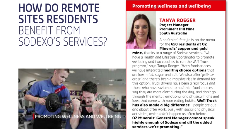 Tanya Roeger shares her experience with Sodexo Worldwide