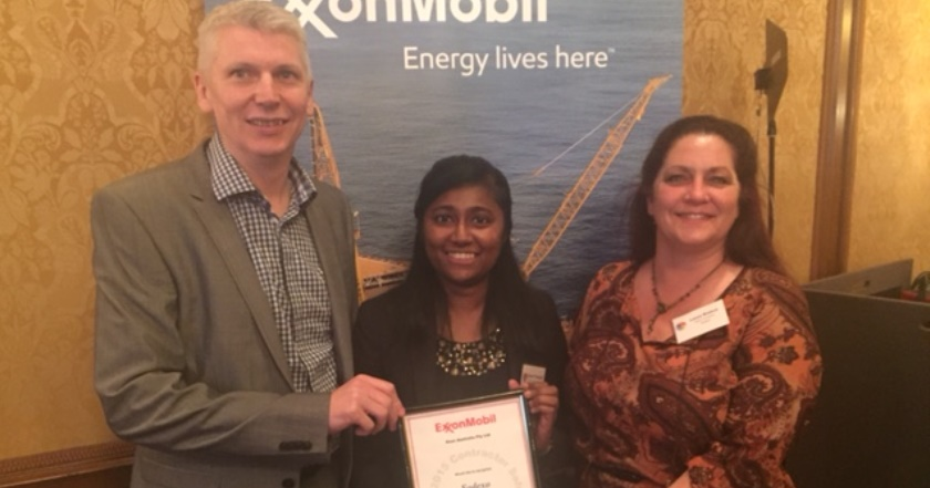 Exxonmobil safety recognition