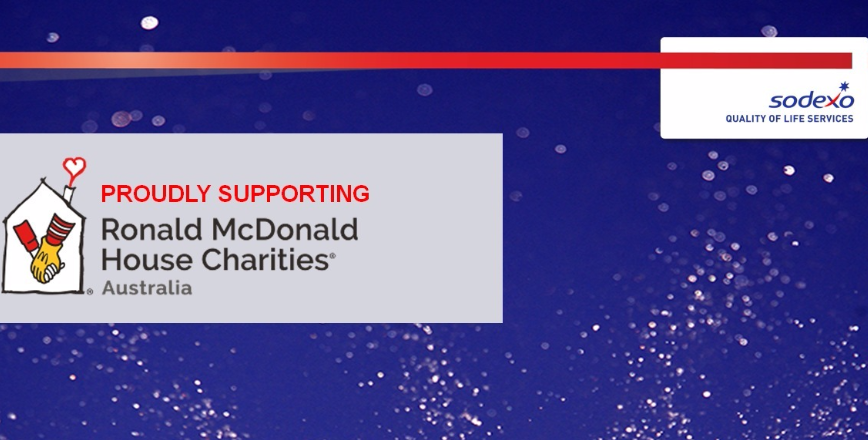Sodexo Supports Ronald McDonald House