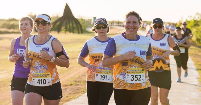 Fundraiser for RACQ Rescue off to a running start