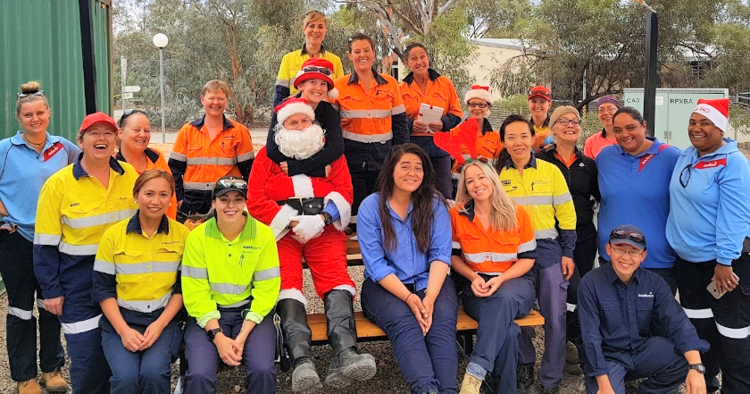 Olympic Dam team puts on a superb Christmas feast