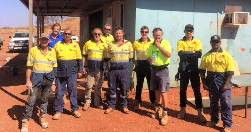Community project renovation in Roebourne