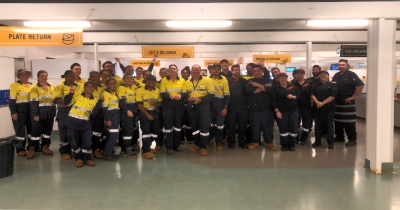 Amrun Team Recognised By Bechtel for Efforts over Cyclone Nora