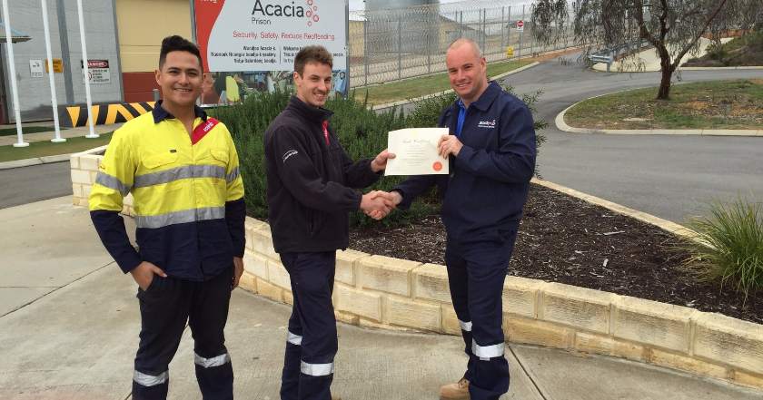 Apprentice Award Congratulations