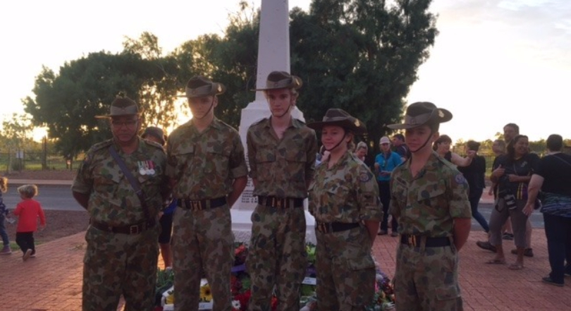 Coastal Team Anzac Day Service