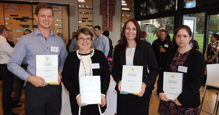 Sodexo receives atWork Australia 2016 Indigenous Employer Award