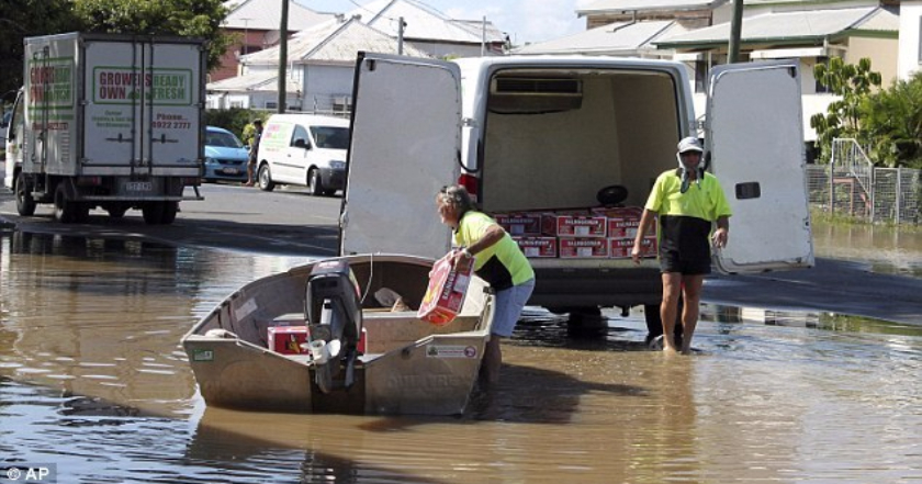 Queensland flood & disaster relief