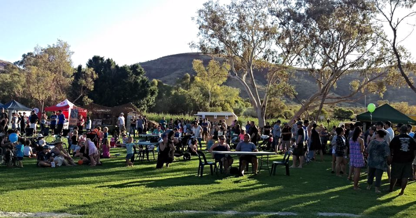 Community Sundowner event at Tom Price