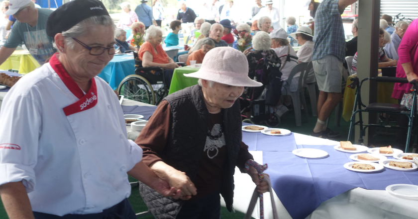 All Aboard! Sodexo creates a culinary getaway for annual Seniors Regatta