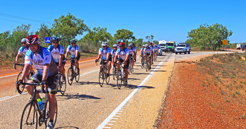 Sodexo on a roll with Karratha to Broome Bike Ride