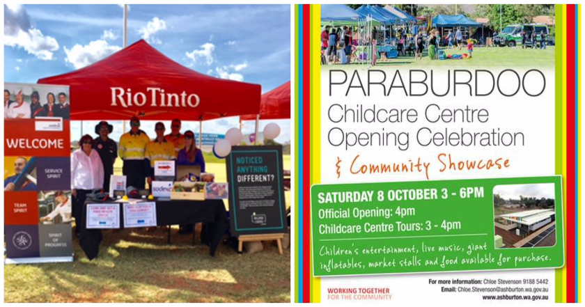 Paraburdoo Community Showcase & Childcare Centre Opening Celebration