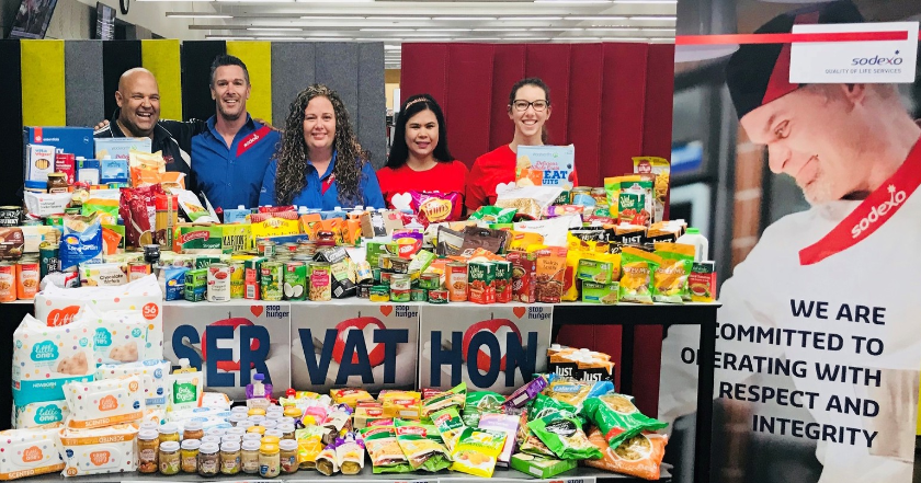 Thank You for Joining Us to Stop Hunger—2018 Servathon Results