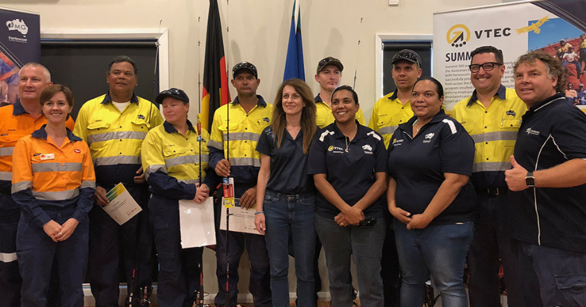 Fortescue partners with Morris Division to support VTEC graduates