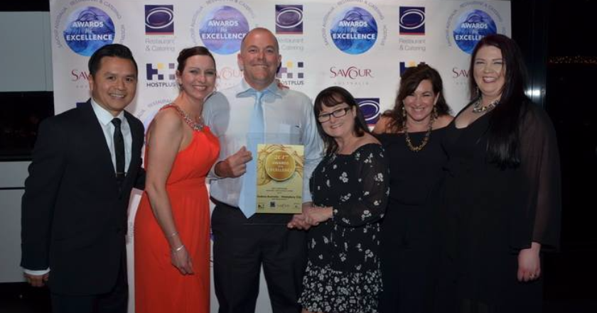 Sodexo Haileybury City hailed as National award winners!