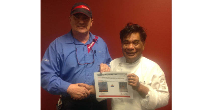 BHP Billiton Olympic Dam Monthly Safety Award Winner!
