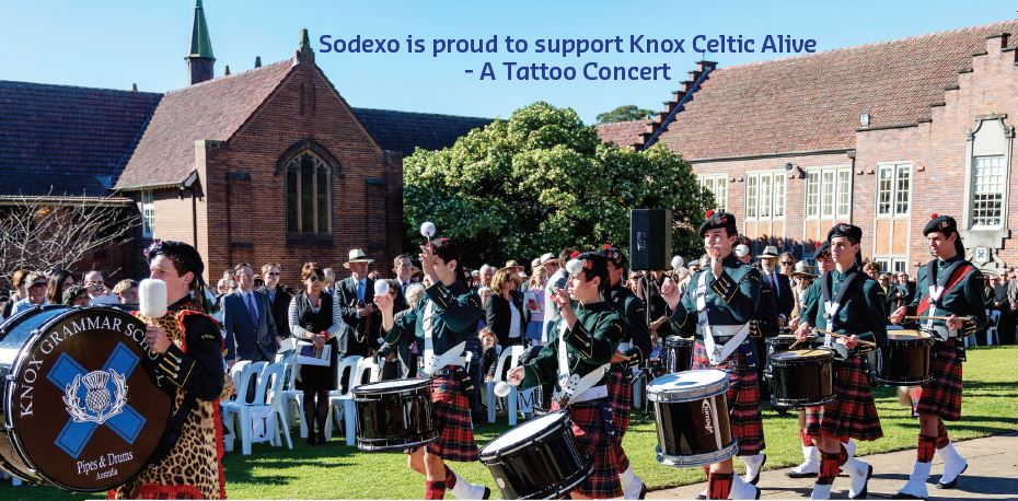Sodexo is a proud sponsor of the 2016 Knox Tattoo