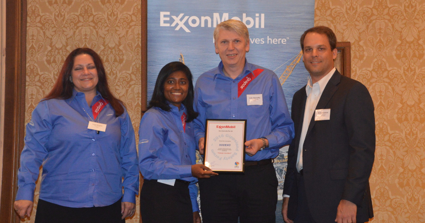 ESSO award for Work Force Engagement & Consultation