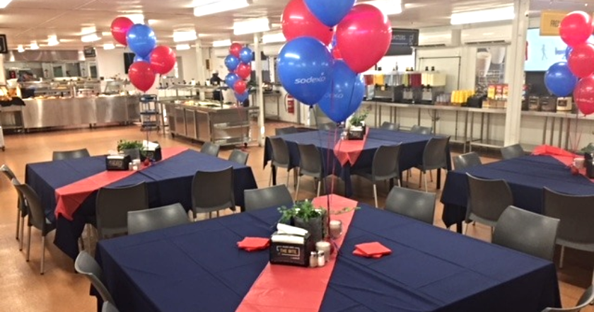 Sodexo celebrates first year anniversary at DeGrussa