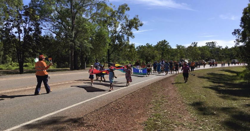 Weipa Annual NAIDOC Week March