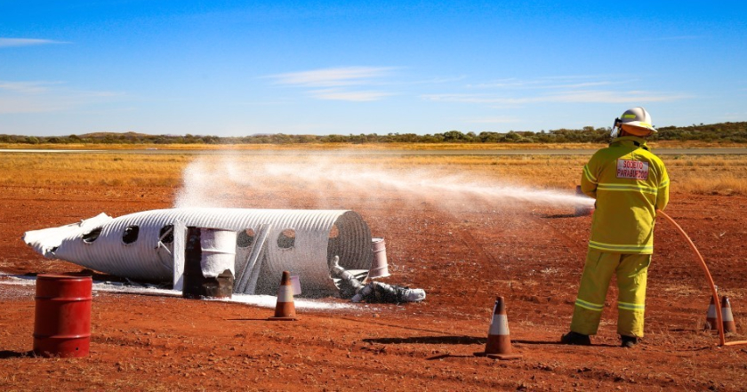 Emergency Management Exercise at Paraburdoo Airport
