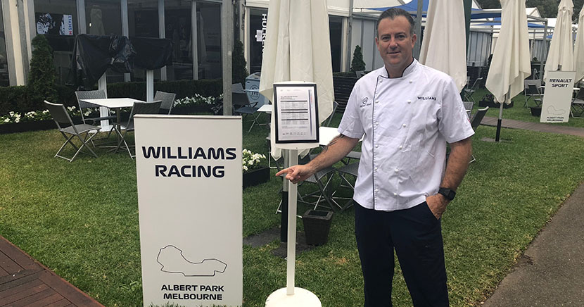 High performance catering for Formula One Grand Prix