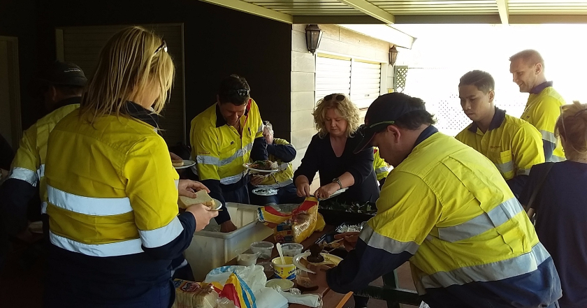 Paraburdoo bringing the Local Living community spirit