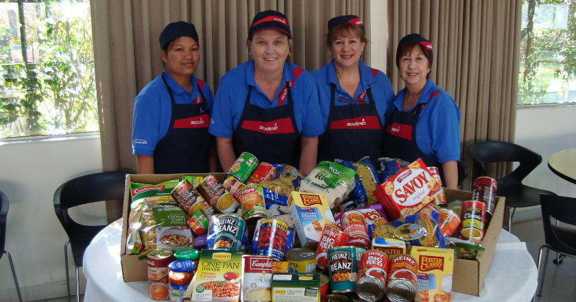Sodexo Supports Foodbank