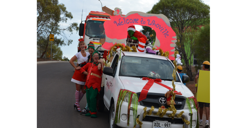 Festive spirit in Roxby Downs