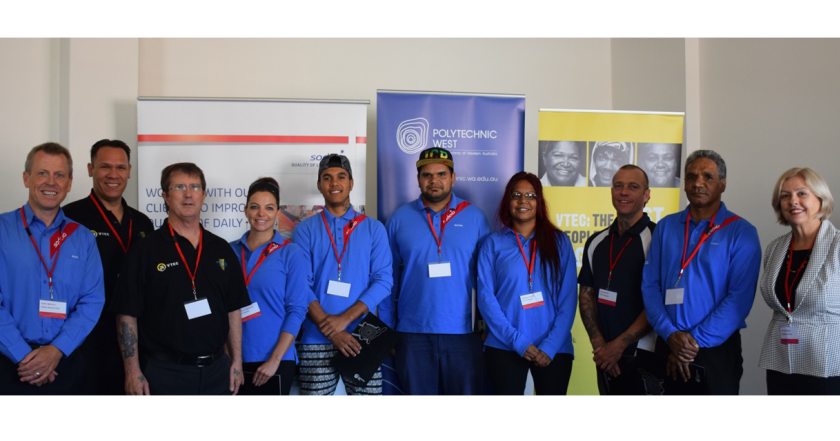 Congratulations to graduates of WA's first Hospitality Vocational Training and Employment Centre Class of 2014