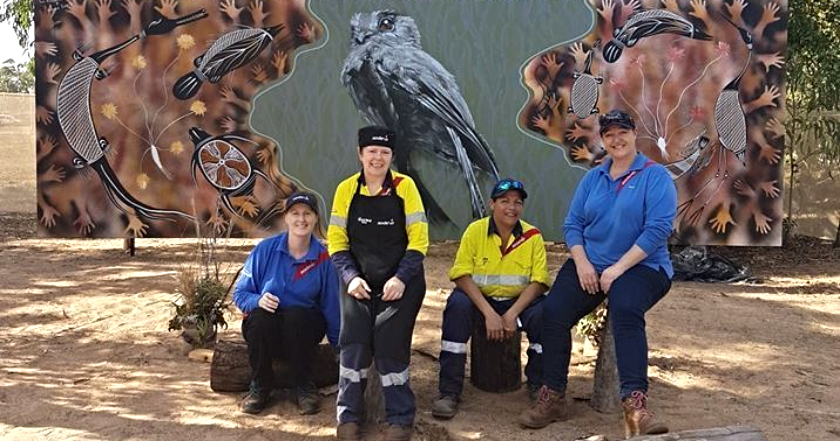 Sodexo team delivers Garma 2018