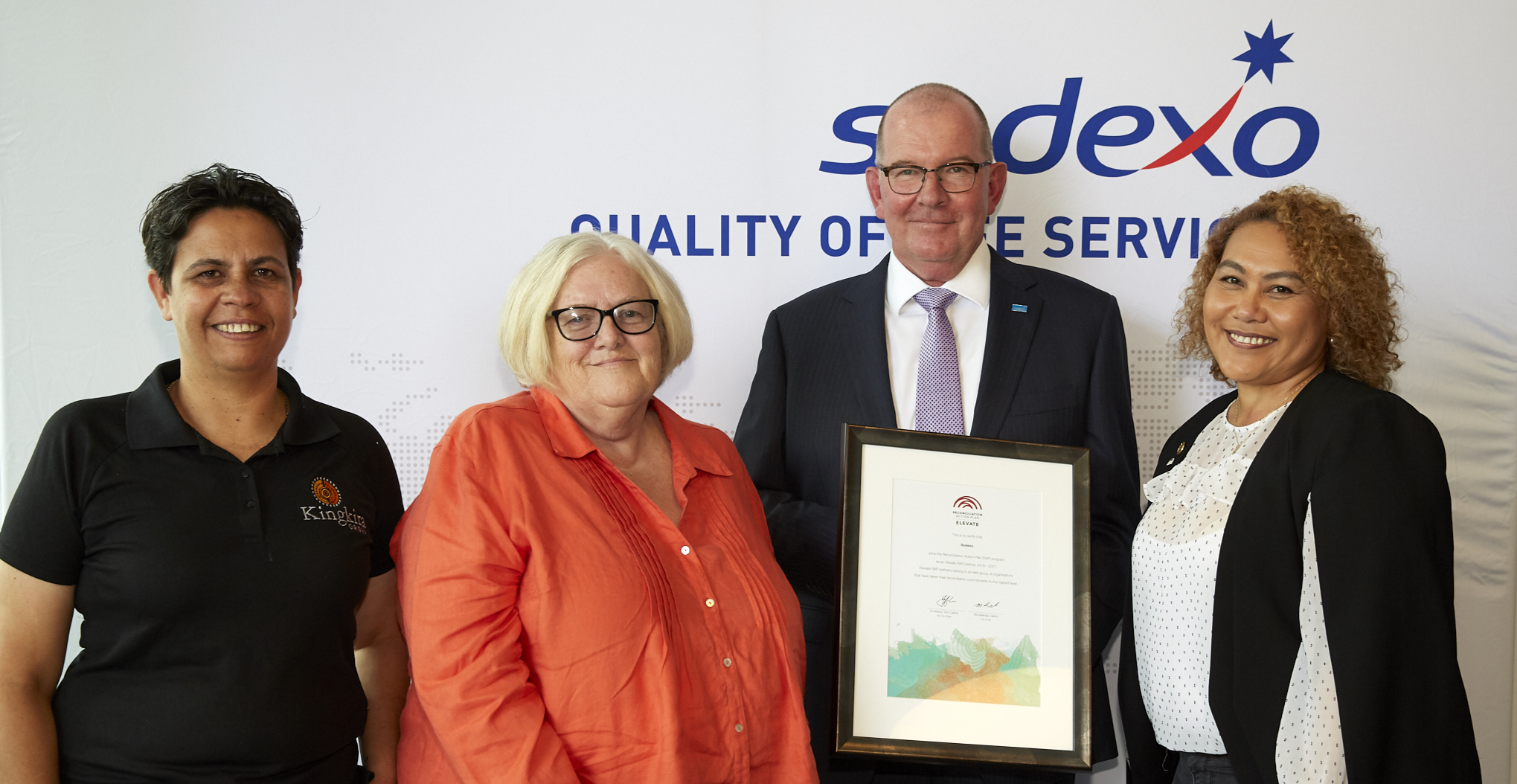 Sodexo launches second Elevate Reconciliation Action Plan