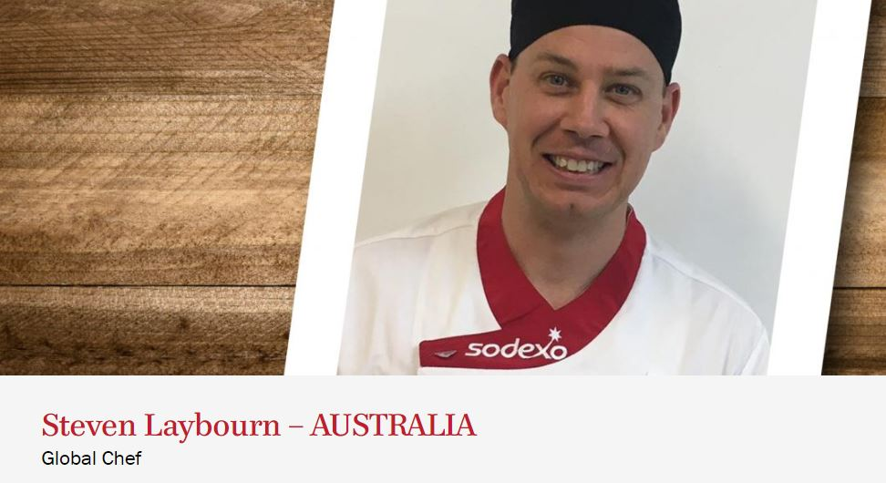 2019 Global Chef Steve Laybourn