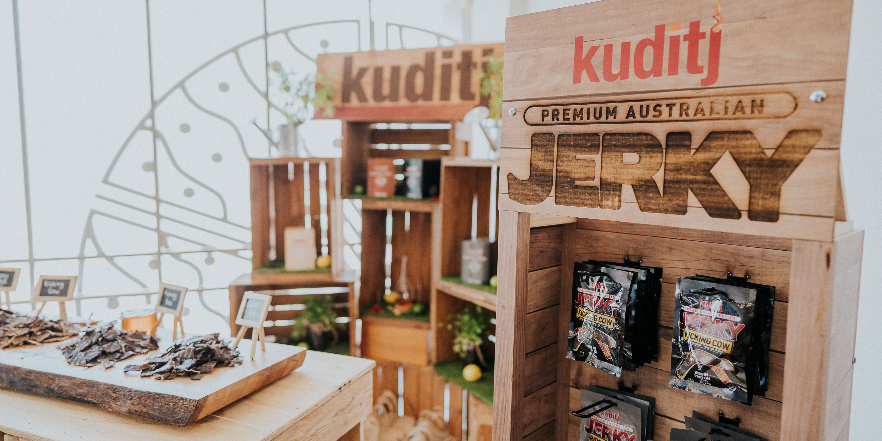 Kuditj Jerky lands at Bunnings