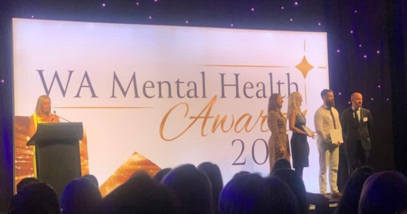 Sodexo wins 2020 WA Mental Health Award