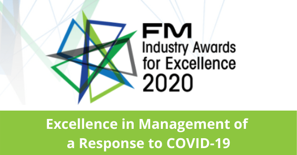Sodexo crowned 2020 FMA Award Winner!
